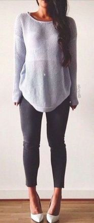 Sweaters outfit idea you should try this year (072) | fashion