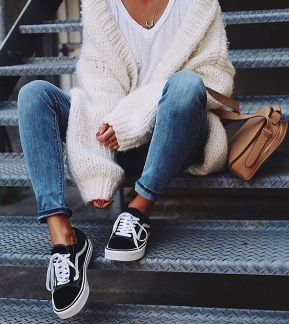 Sweaters outfit idea you should try this year (073)   fashion