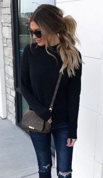Sweaters outfit idea you should try this year (078) | fashion