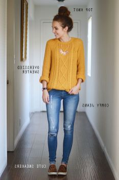 Sweaters outfit idea you should try this year (090) | fashion
