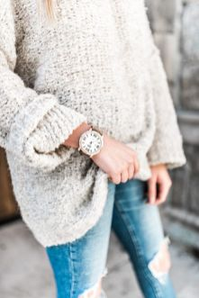 Sweaters outfit idea you should try this year (110) | fashion