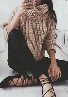 Sweaters outfit idea you should try this year (116)   fashion