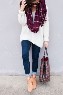 Sweaters outfit idea you should try this year (122) | fashion