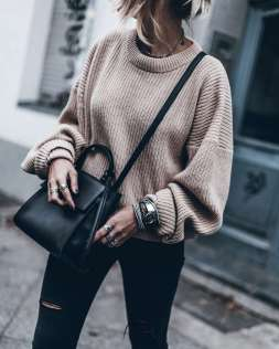 Sweaters outfit idea you should try this year (127)   fashion