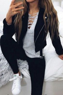 Sweaters outfit idea you should try this year (128) | fashion
