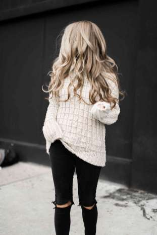 Sweaters outfit idea you should try this year (146)   fashion
