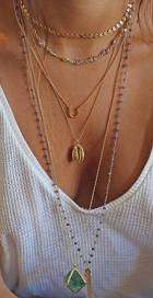 The Ultimate Layered Necklaces Idea - 09 | Fashion DressFitMe