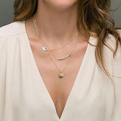 The Ultimate Layered Necklaces Idea - 37 | Fashion DressFitMe