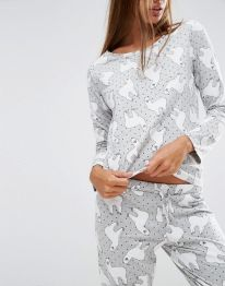 Women's pyjamas style to help you look sharp 084 fashion