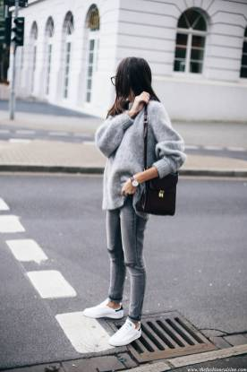 Women's white sneakers outfit 58
