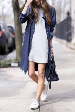 Women's white sneakers outfit 93