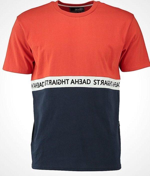 Тениска в два цвята