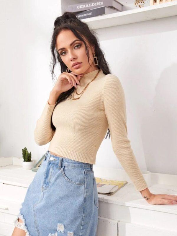 Дамска блуза бежова