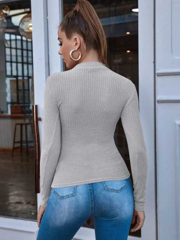 Дамска блуза сива