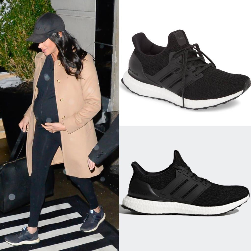Adidas Black UltraBoost Running ShoesMeghan Markle  Dress Like A Duchess