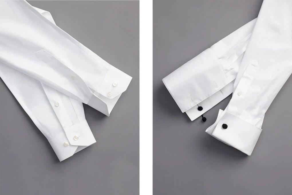 διαφορά σμόκιν κοστούμι μανσέτα στο πουκάμισο