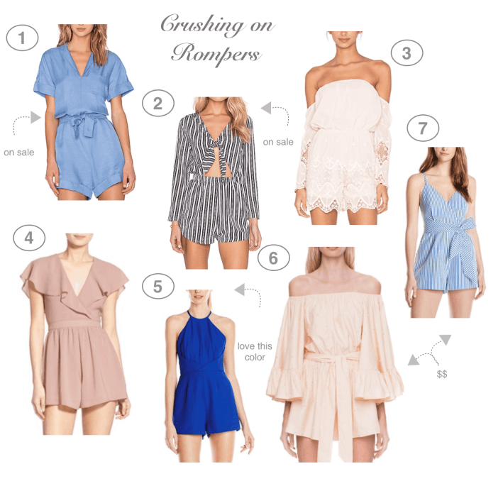 Dress Up Buttercup // A Houston-based fashion and inspiration blog developed to daily inspire your own personal style by Dede Raad   Crushing on Rompers