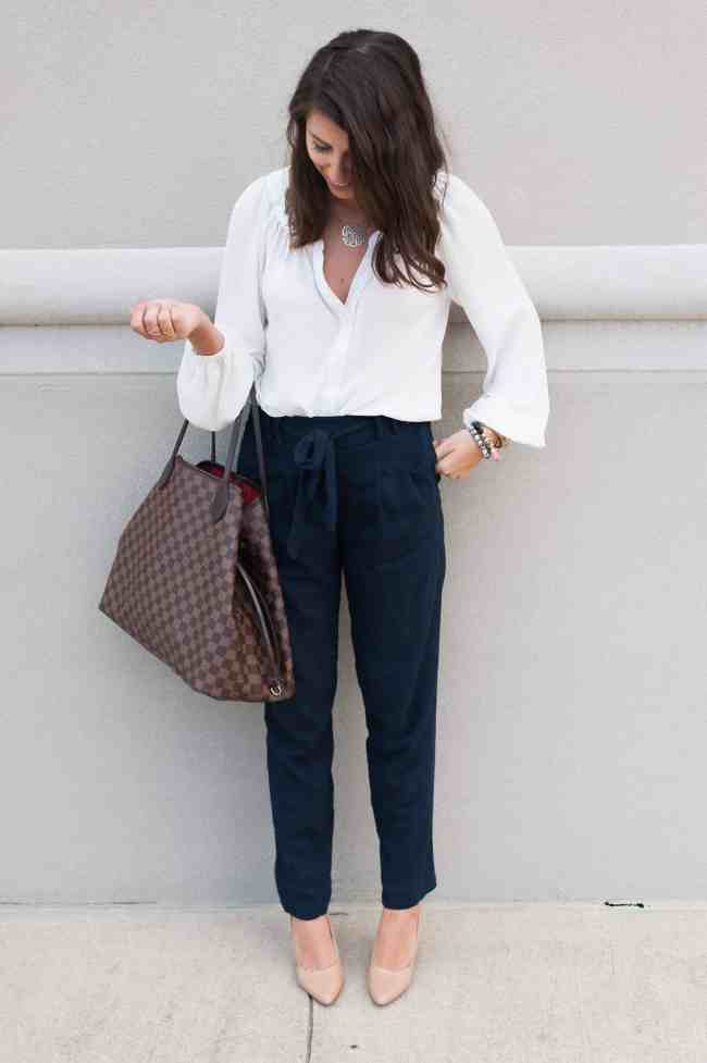 Dress Up Buttercup // A Houston-based fashion and inspiration blog developed to daily inspire your own personal style by Dede Raad   High Wasted Linen