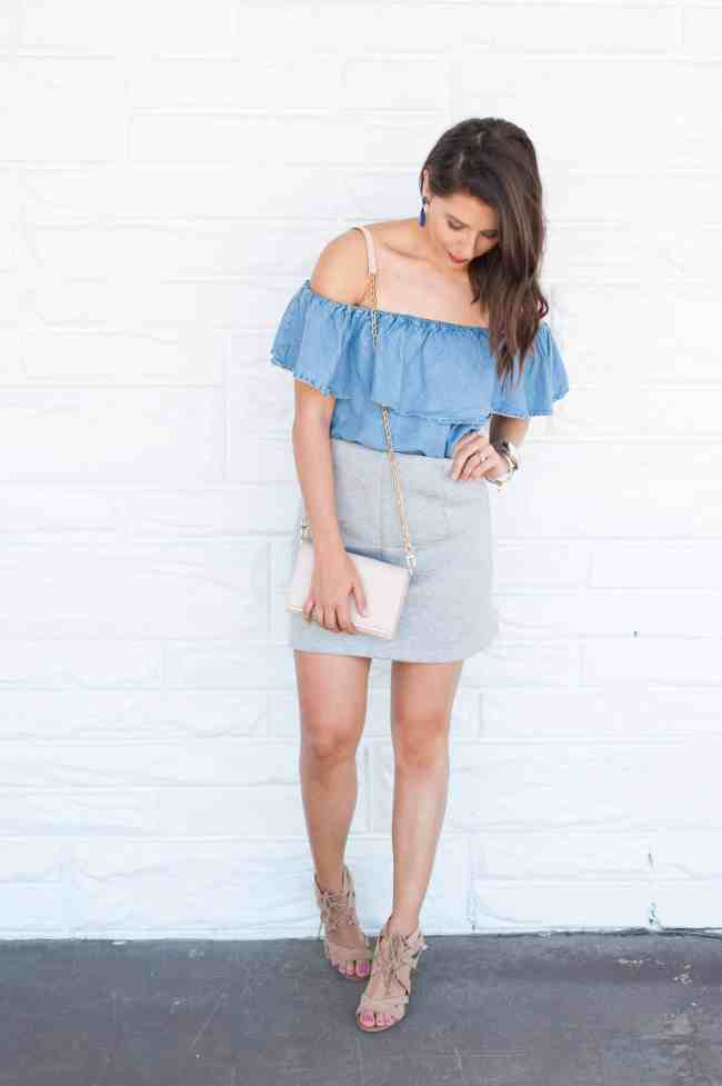 Dress Up Buttercup // A Houston-based fashion and inspiration blog developed to daily inspire your own personal style by Dede Raad | Dress in Skirt