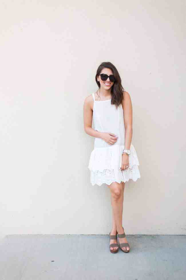 Dress Up Buttercup // A Houston-based fashion and inspiration blog developed to daily inspire your own personal style by Dede Raad | Eyelet Slipdress