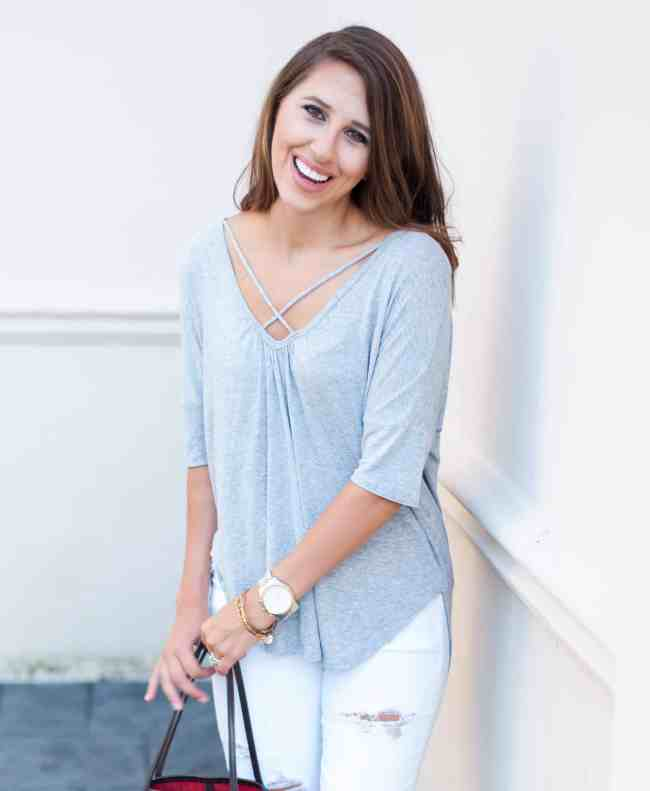 Dress Up Buttercup | Houston Fashion Blog - Dede Raad | Casual Cross Front