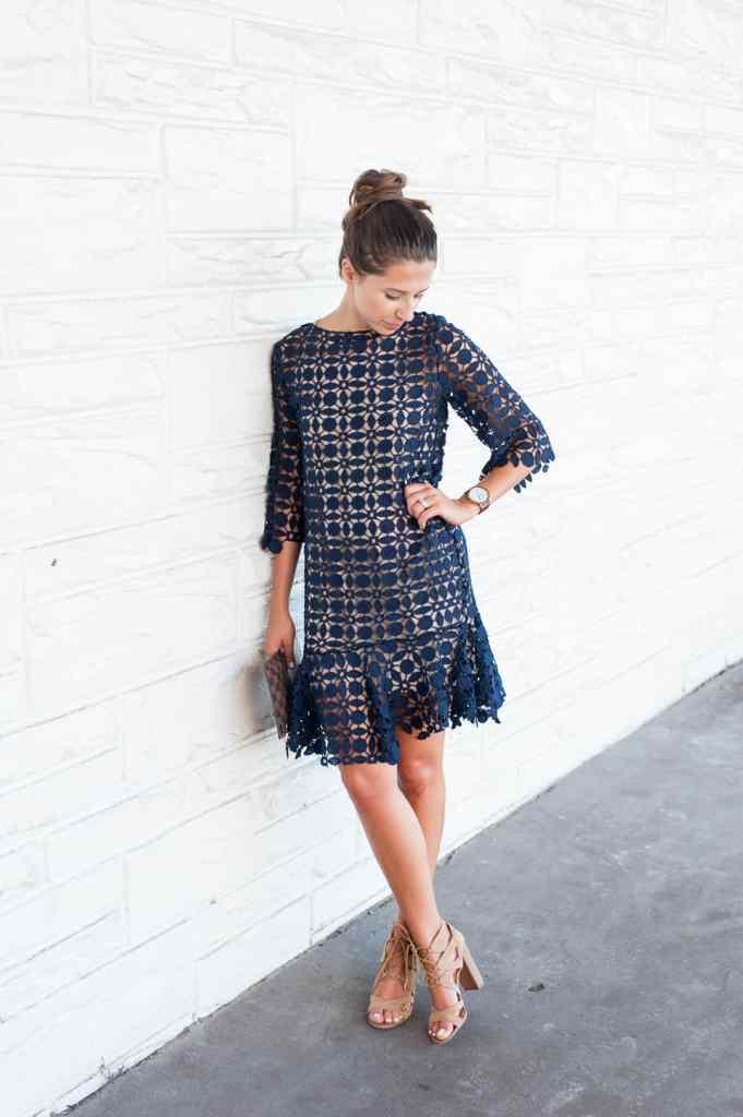 Dress Up Buttercup | Houston Fashion Blog - Dede Raad | Darling Crochet Dress
