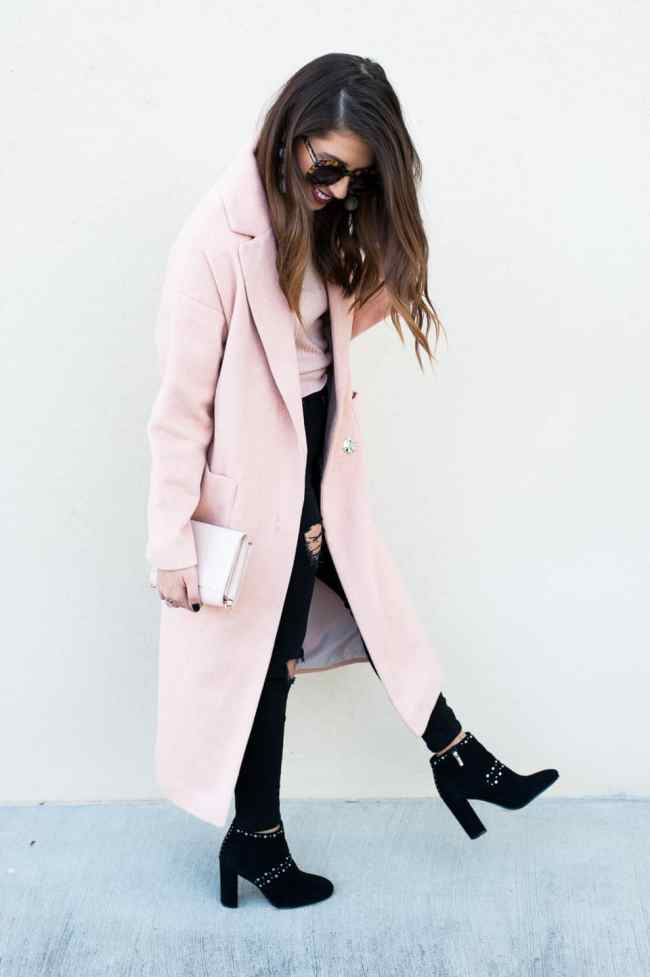 Dress Up Buttercup Dede Raad Slouch Coat Pink On Pink