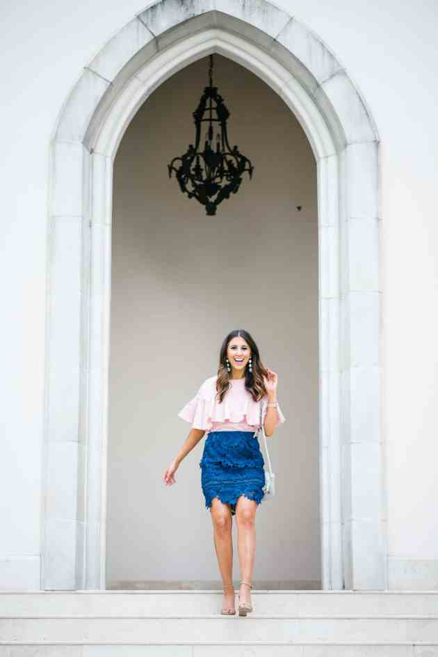 Dress Up Buttercup // A Houston-based fashion travel blog developed to daily inspire your own personal style by Dede Raad | Bubbly V Day Outfit