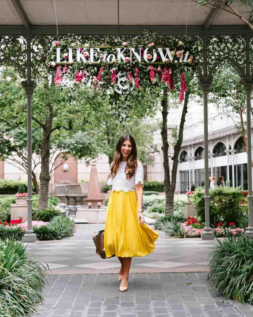 A Garden Skirt