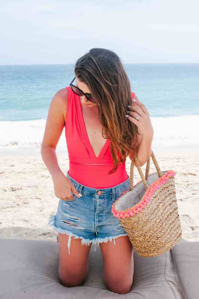Dress Up Buttercup Dede Raad Houston Blogger One Pieces In Cabo