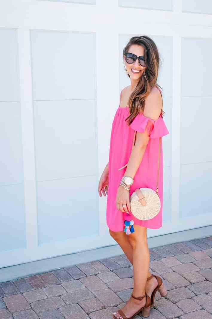 Dress Up Buttercup, Dede Raad, Houston blogger, fashion blogger, Cold Shoulder Dress