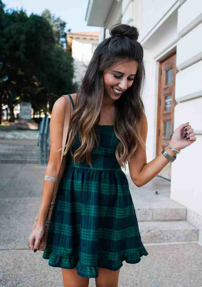 plaid mini dress i dress up buttercup i fashion blogger i houston blogger. Black Bedroom Furniture Sets. Home Design Ideas