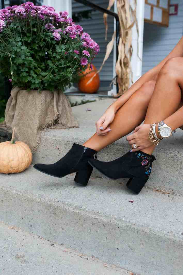 Fall Booties I Dress Up Buttercup