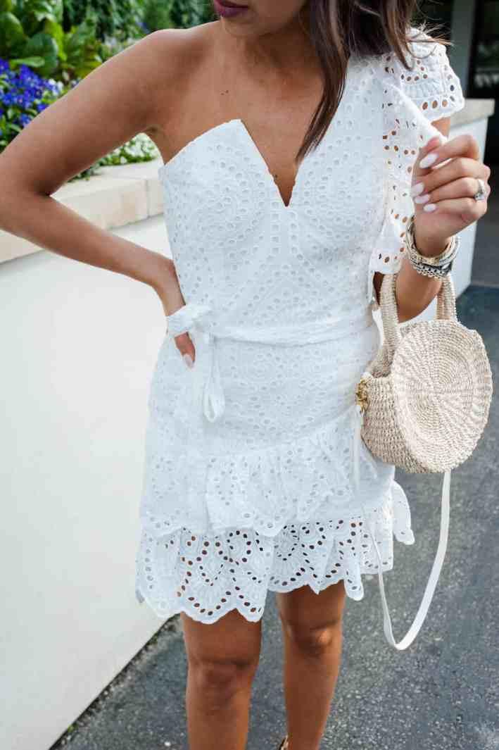 Sassy White Dress | Dress Up Buttercup
