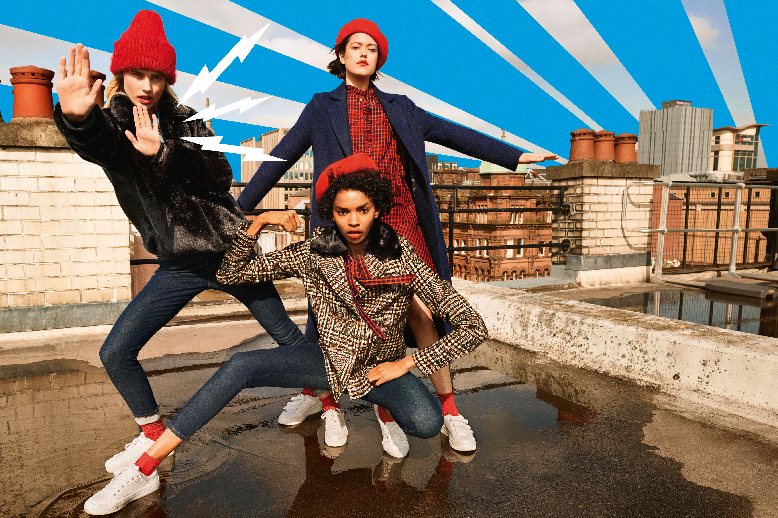 Lässige Modetrends für Herbst und Winter
