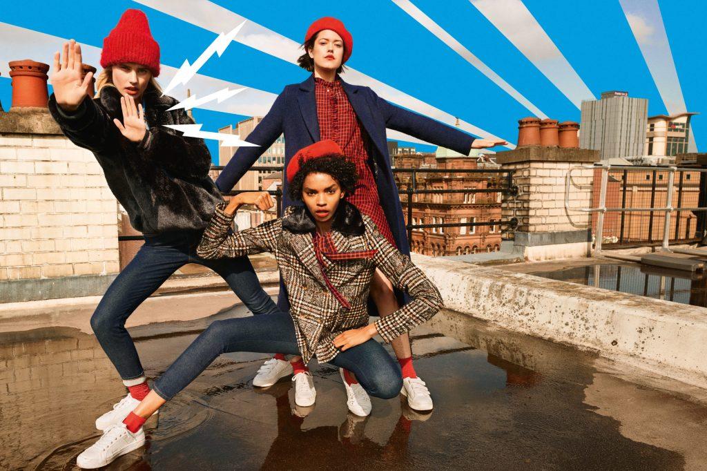 Mode, die Spaß macht: Ob Glencheck oder schlichtes Schwarzrot - dieses Jahr stehen Karomuster hoch im Kurs.
