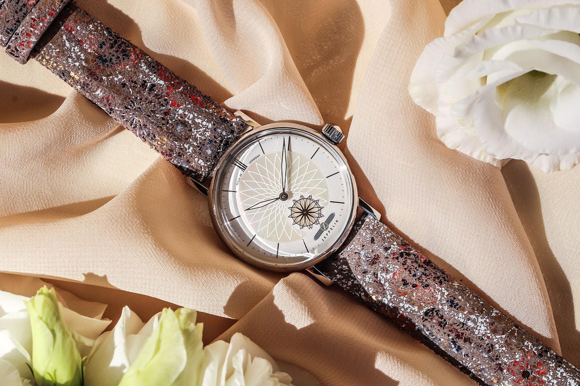 Uhr mit Mandala Motiv - Edle Armbanduhr als Geschenkidee zum Muttertag