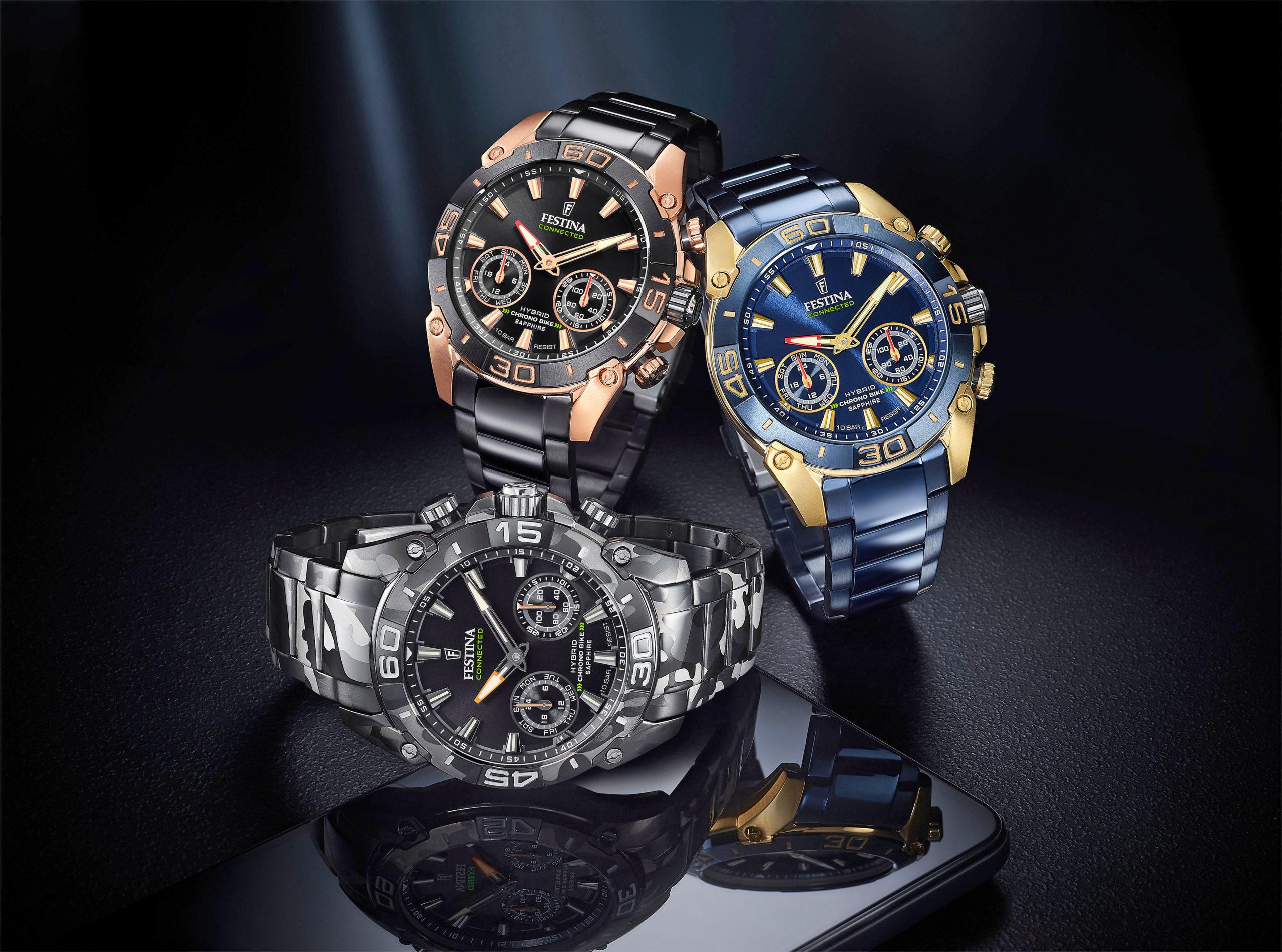 Hybridwatch für Herren