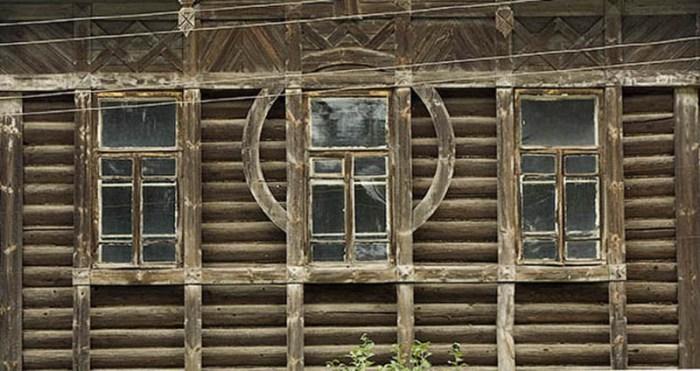 архитектура из бревен