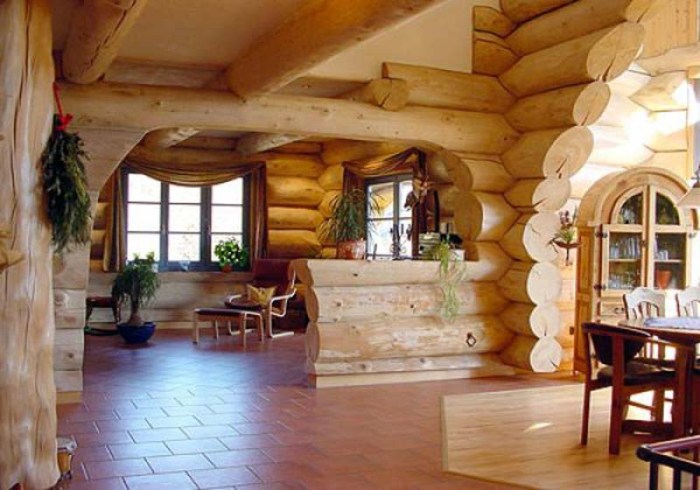 деревянное зодчество интерьер