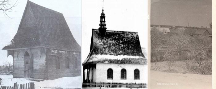 Деревянный костел деревни Линово
