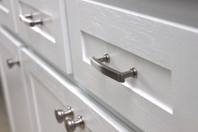 door knobs for kitchen cabinets large clocks cabinet update | drew & vanessa
