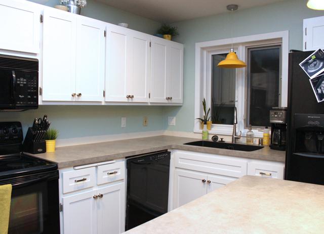 Kitchen Countertops Sneak Peek  Drew  Vanessa