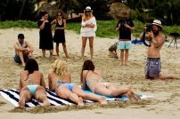 Behind The Scenes of Surfing Magazine's Swimsuit Calendar Shoot 040