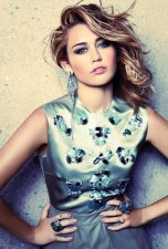 Miley Cyrus Sexy Sophistication in Marie Claire September 2012 Photos - 004