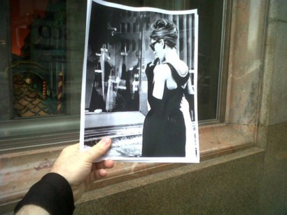 Movie Scenes Overlapped With Real LifeBreakfast at Tiffany's 1961 001