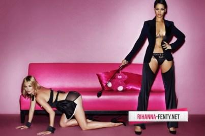 Rihanna and Kate Moss Go Topless for Mario Testino's V Magazine Shoot 001