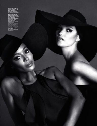 Naomi Campbell & Kate Moss for Interview Magazine NSFW [Photos] 004