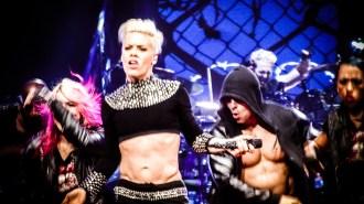Pink at Perth Arena 2013-17