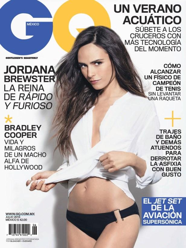 Sexy Jordana Brewster GQ Mexico Magazine July 2013 07